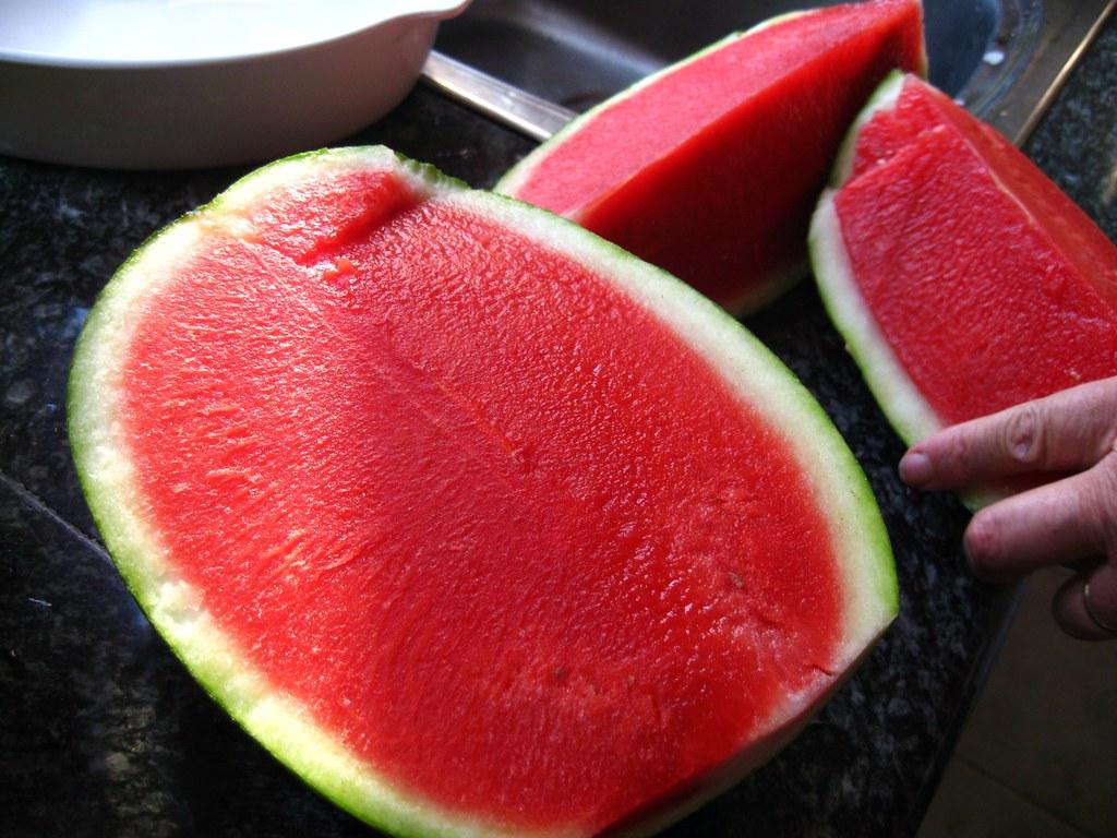 Semangka tanpa biji merupakan salah satu hasil dari rekayasa genetika.