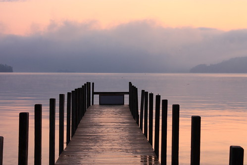 morning pink lake clouds sunrise dawn pier george dock perspective lakegeorge lakegeorgeny