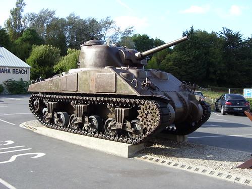 Sherman Tank @ Omaha Beach Museum