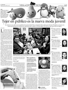 Vida, Ciencia y Tecnologia, El Mercurio 12/09/09 | by Marina Torreblanca (Sally)