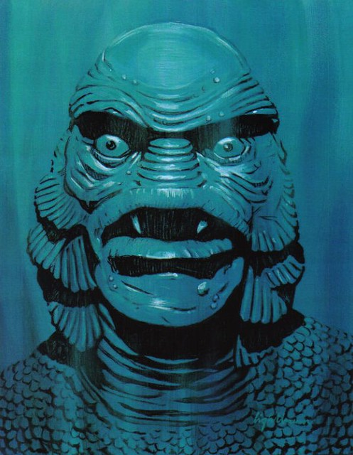 Monster Gallery - Creature from the Black Lagoon
