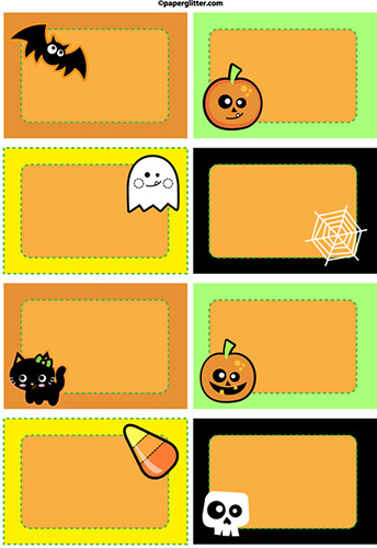 graphic about Printable Halloween Labels titled No cost Printable Halloween Labels Absolutely free PRINTABLE! Down load a