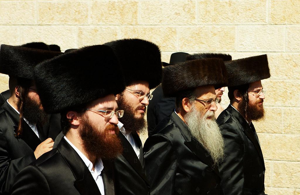 Jews with Shtraml @ Western Wall | Männer mit Schtreimel auf… | Flickr