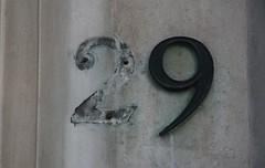 number 29 | by jontintinjordan