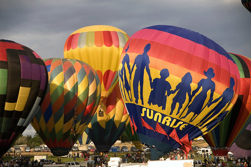 morning sunrise nevada balloon gathering reno balloonraces nikond300s