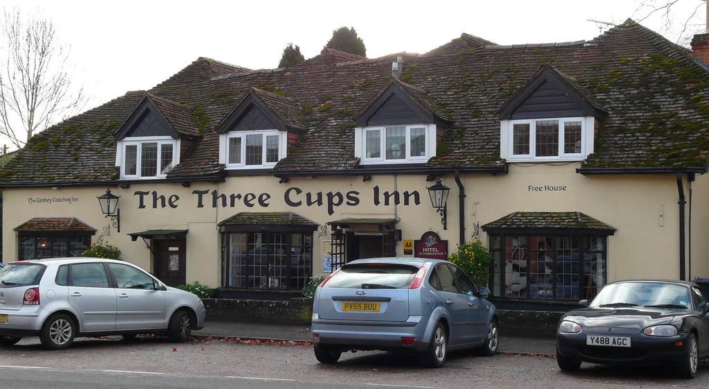 The Three Cups, Stockbridge, Hampshire