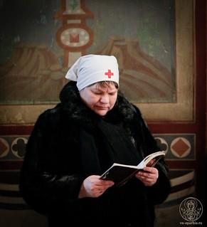 Литургия в Софийском соборе 325