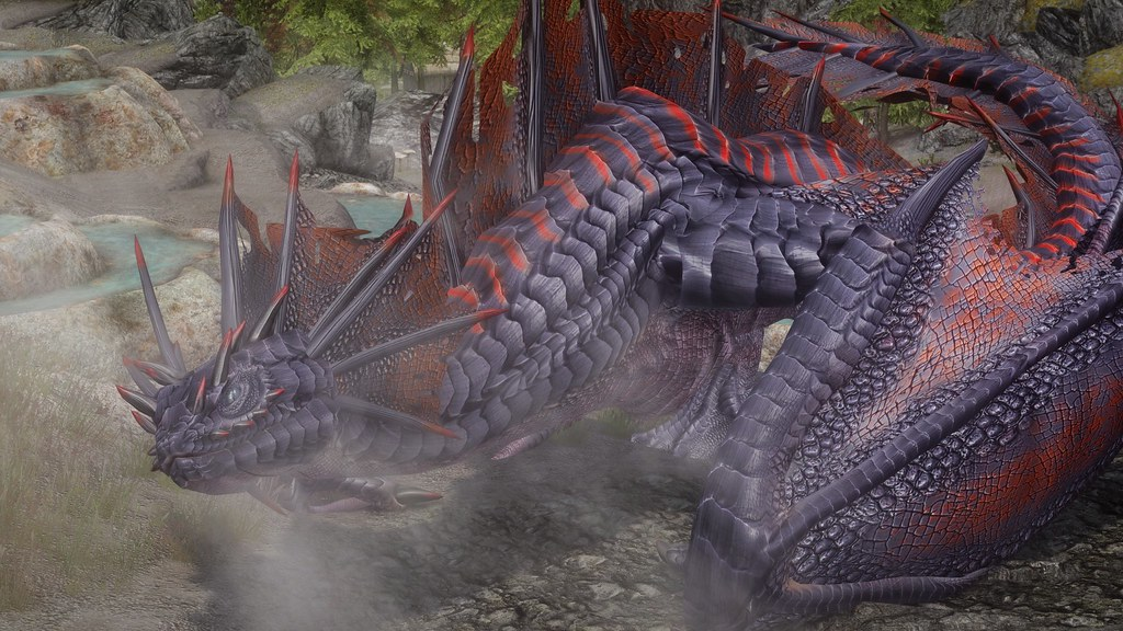 Jormungandr Dragon | Mod: Zerofrost Mythical Armors and Drag