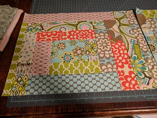 Foundation Piecing Side 2 - for grocery bag