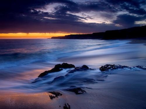 sunset santacruz beach clouds surf olympus cliffs zuiko1442 olympus410 holeinthewallbeach shanevenem