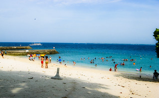 the beach at Portofino Resort, Mactan | by dbgg1979