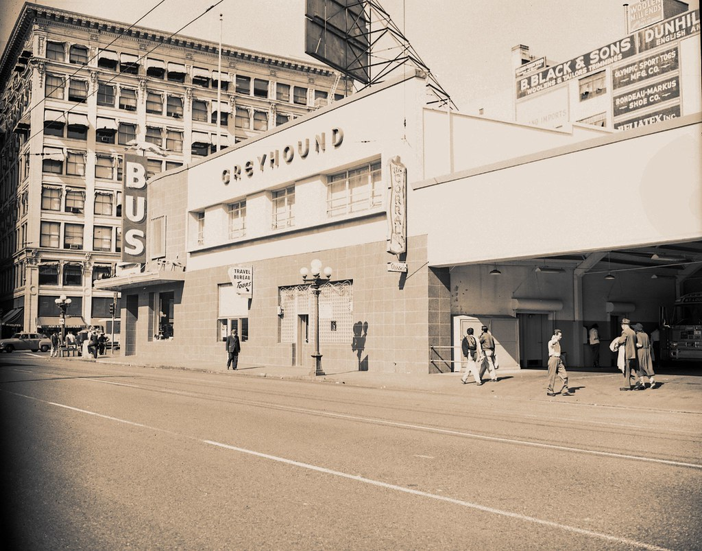 Old Los Angeles Greyhound Bus Station | This the old Pacific