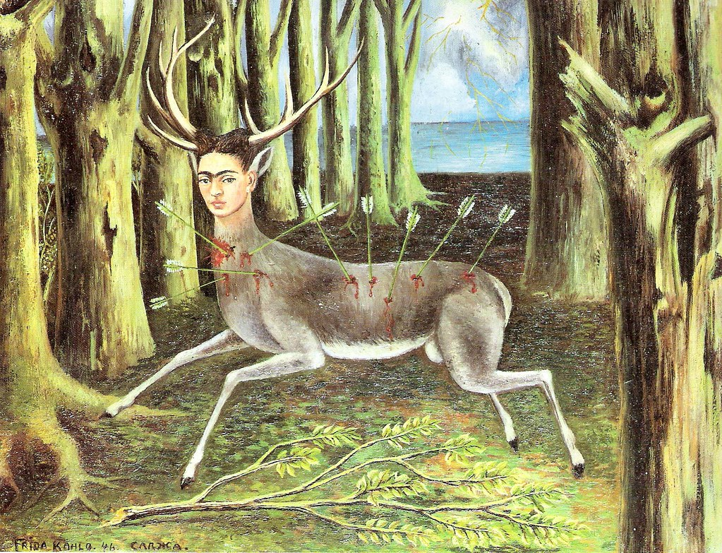 El ciervo herido | Frida 1946 | joaquin piudo | Flickr