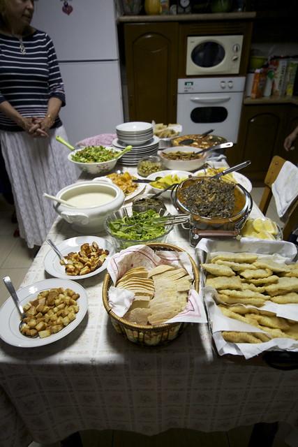 Dinner at Hanife's house