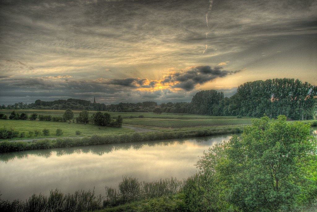 HDR: Sunset by Dirk Paessler