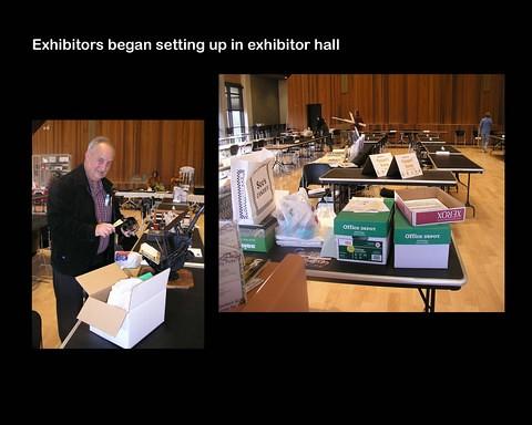 Book Arts Jam 2007 - Setup - slide 3