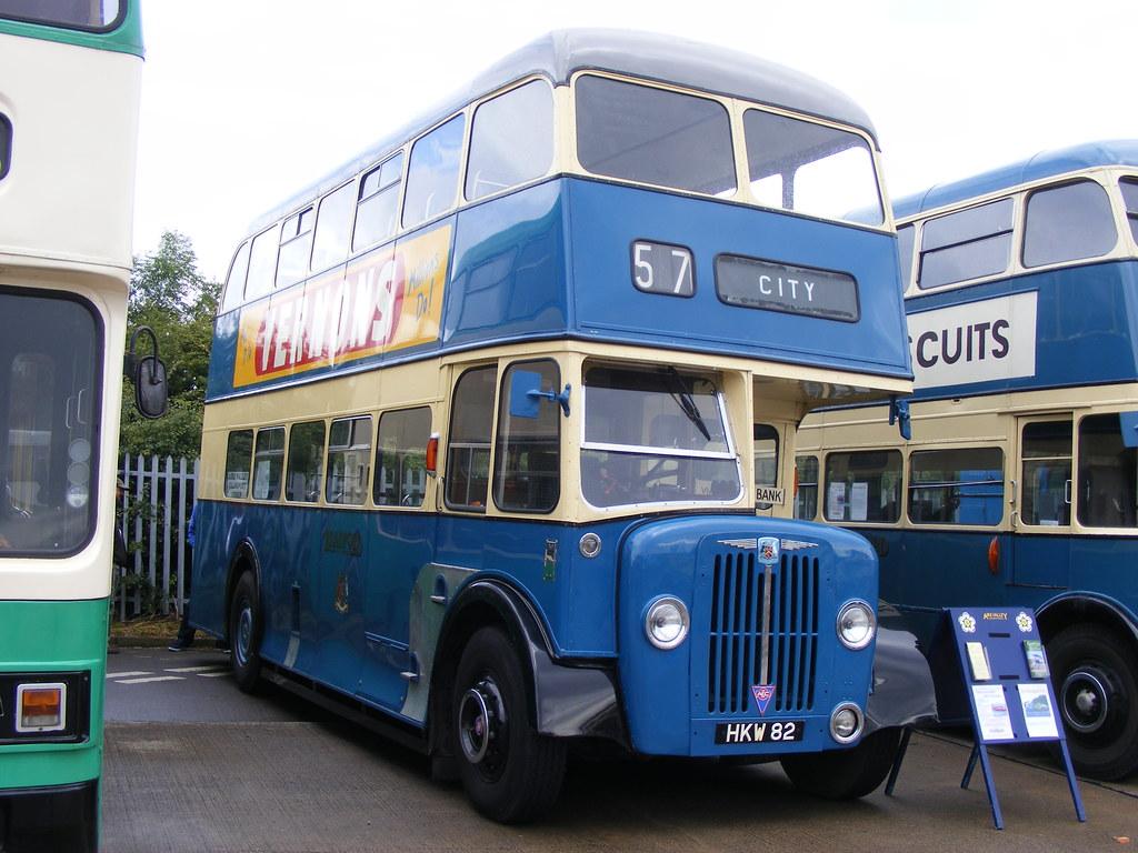Bradford Corporation 146 YKW146 AEC Regent Bus Photo Ref P171