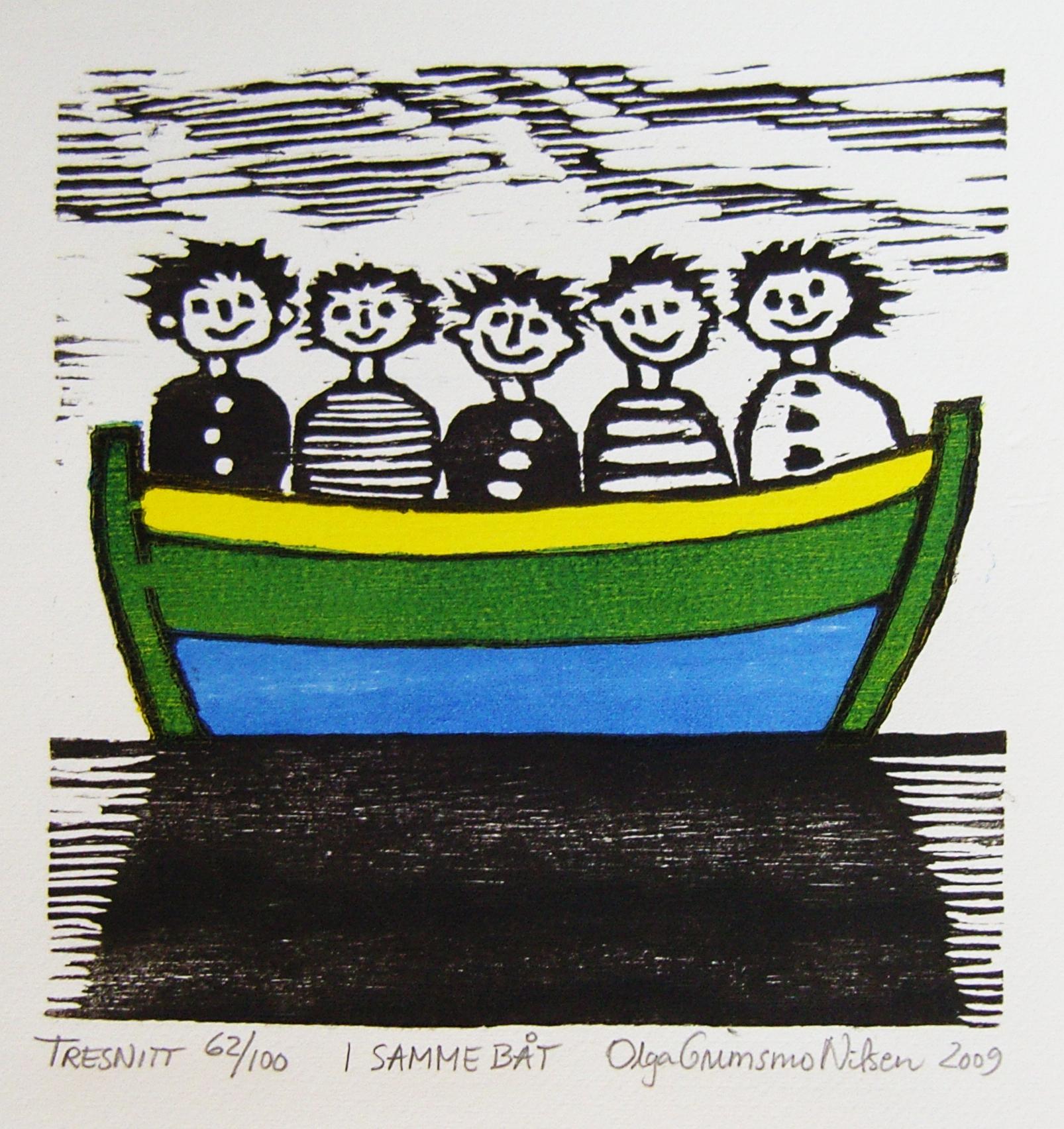 I samme båt