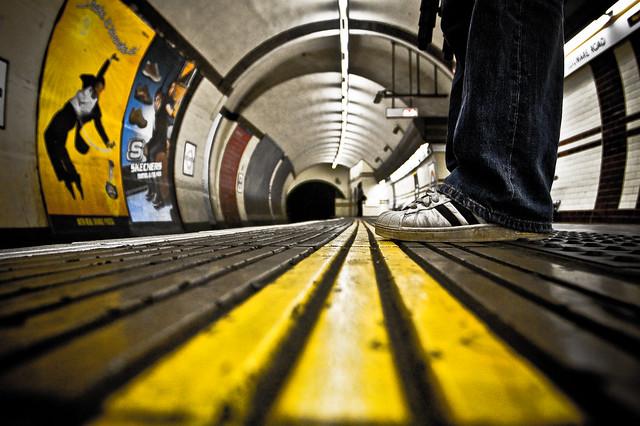 Late night on the Underground