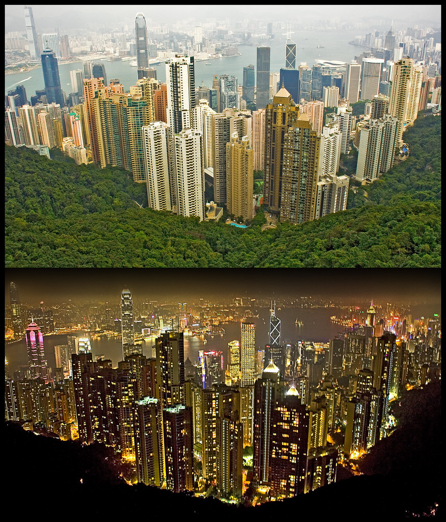 | Hong Kong -- Day and Night | by SOBPhotography