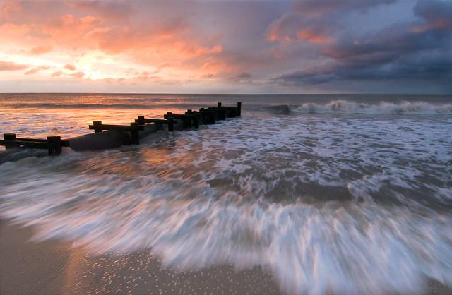 Cape May Beach Sunrise
