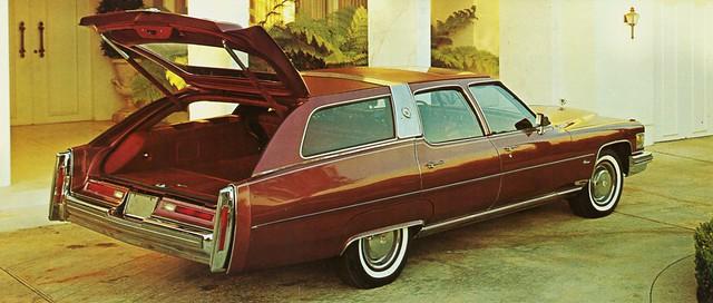 1976 Cadillac Station Wagon by Traditional Coachworks (Rea…   Flickr