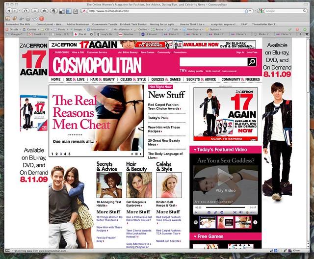 Cosmopolitan magazine online dating Hoe te om uw eerste bericht op daterende plaats te verzenden