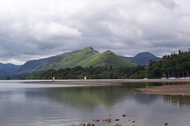 Cat Bells from camp site