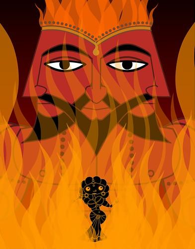 Sita Agni Poster   by FredMikeRudy