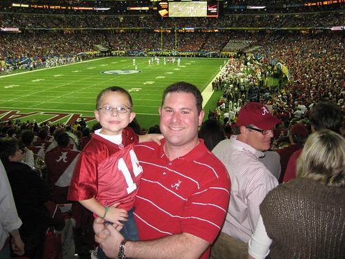 George and Bradley at the SEC Championship Game | by gbhicks55
