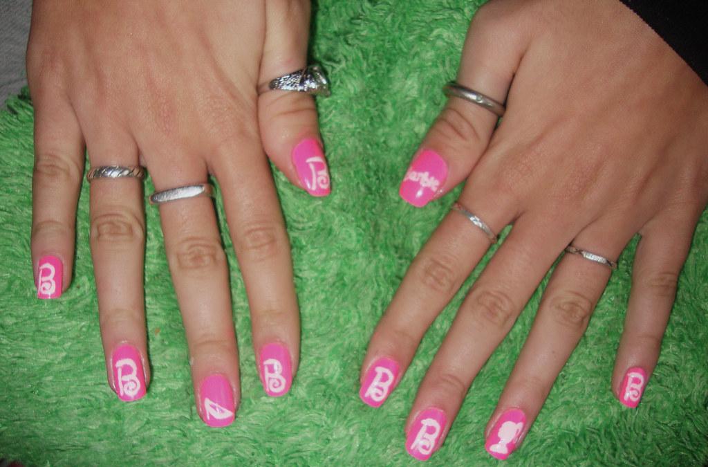 barbie nails | Lola Amurov | Flickr
