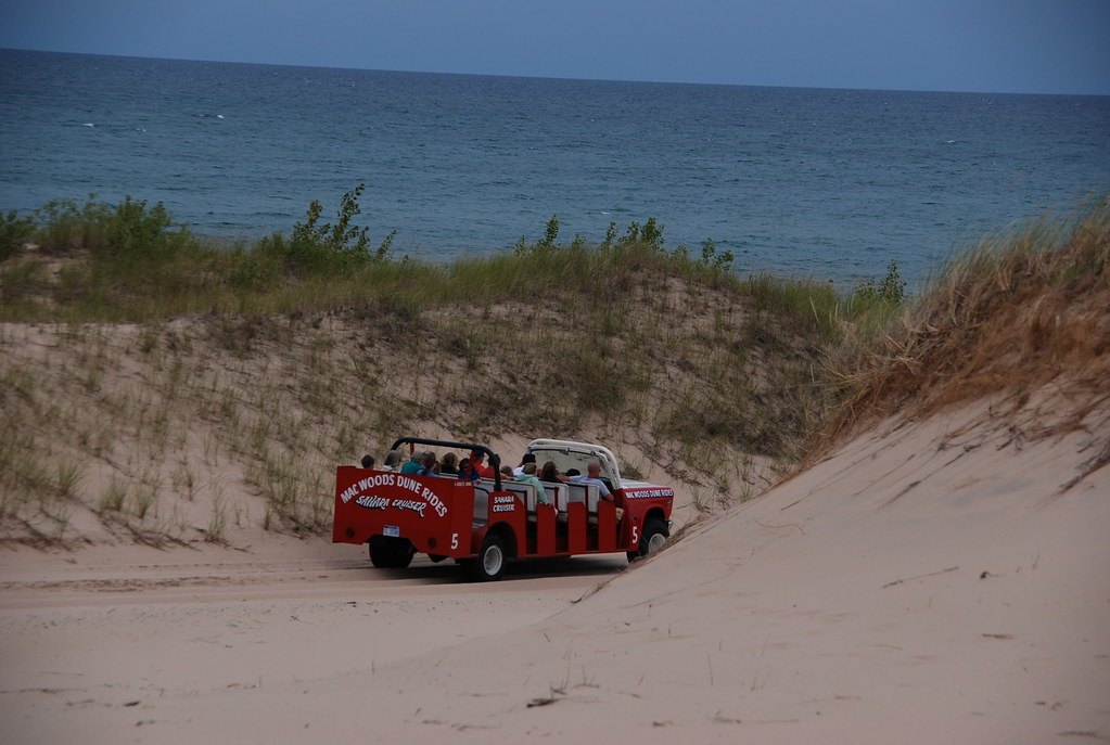 Mac Woods Dune Rides, Silver Lake, Michigan.