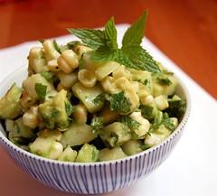 Asian pear corn salsa   by Marina Kh