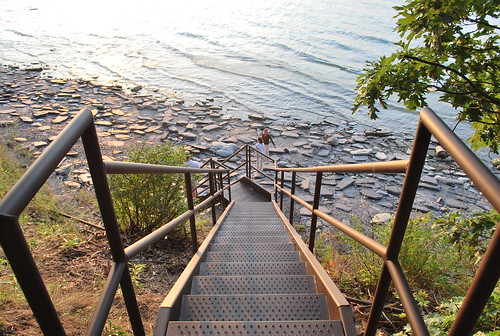stairway to lake erie | by PROP Clothing [dot] Com