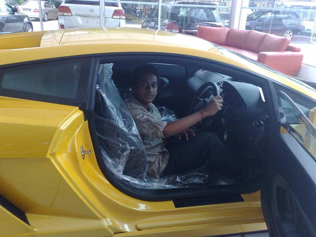 Lamborghini Gallardo Door Open With Me 1 Malaysia Flickr