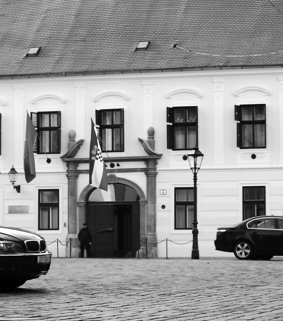 Split BMW and the House of The Croatian Government