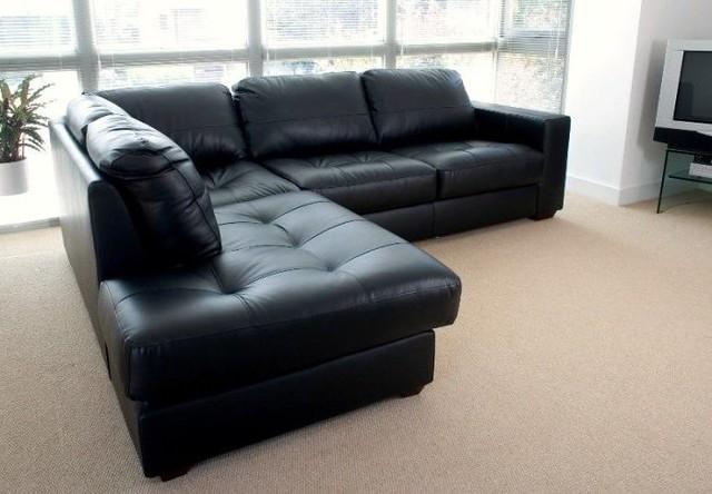 Fabulous Black Leather Corner Sofa Westpointblack Black Leather Cor Cjindustries Chair Design For Home Cjindustriesco