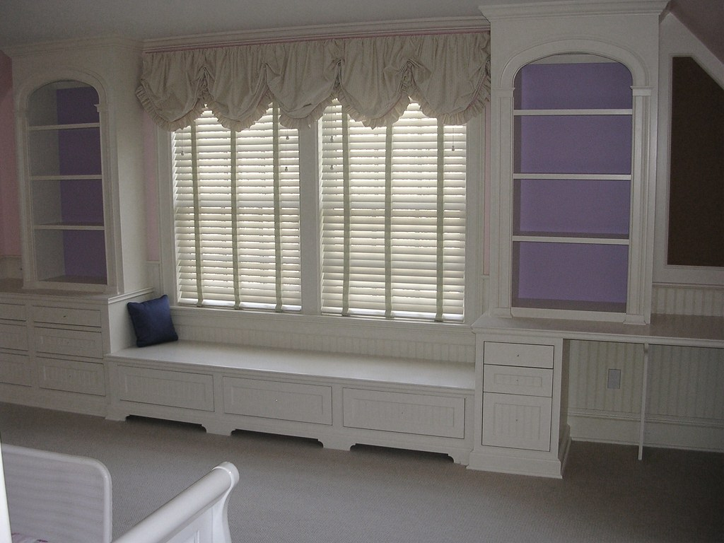 Fabulous Girls Bedroom Desk Window Seat And Drawers Curtis Terzis Customarchery Wood Chair Design Ideas Customarcherynet