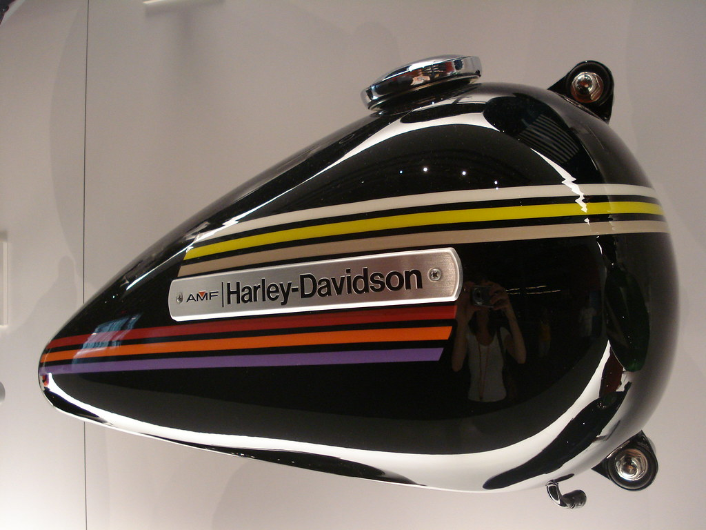 Harley-Davidson Tank Graphic [1] | Ange Tank | Flickr