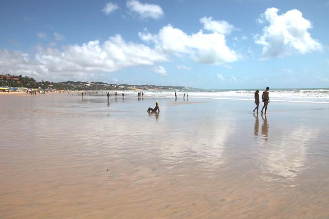 Spiaggia Ponta Negra  bassa Marea