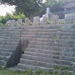 Hirara, Okinawa, Japan 豊見親墓と仲宗根豊見親の墓 今日も晴れたー