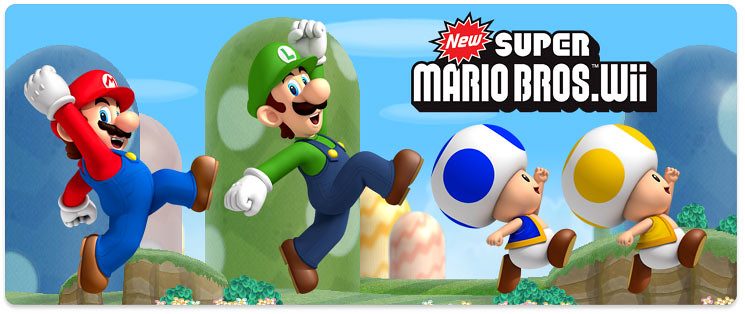 New Super Mario Bros Wii Playable Characters 2 The Playabl Flickr