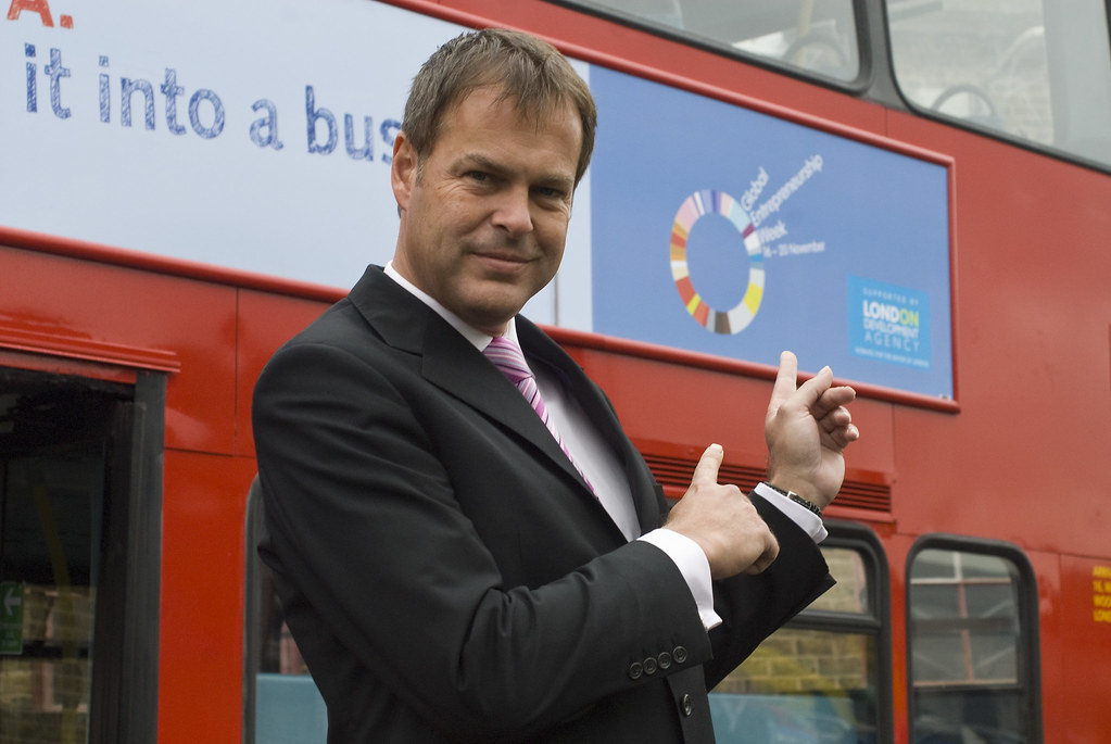 Peter Jones, Enterprise UK, Nov 09