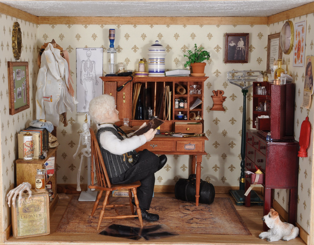 Phenomenal Doctors Office 1 12 Scale Dollhouse Miniature A Larger Pic Download Free Architecture Designs Scobabritishbridgeorg