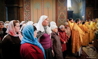 Литургия в Софийском соборе 340