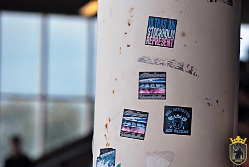 Stickers Ultras Aik Stockholm Peter Sebastian Graus Flickr