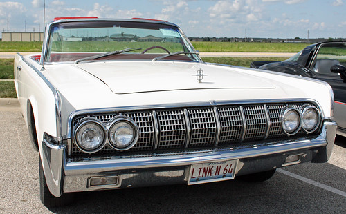 1964 Lincoln Continental Convertible (1 of 6) | by myoldpostcards