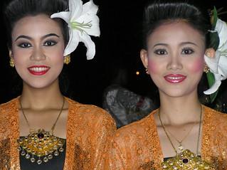 Beautiful girls in Thailand.