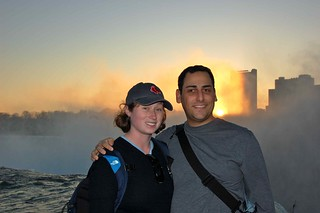 Meghan and me at Horseshoe Falls | by agperson