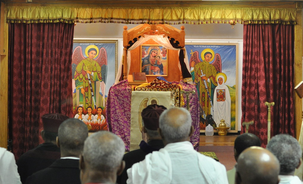 Altar Of St Michael S Tewahedo Ethiopian Orthodox Church